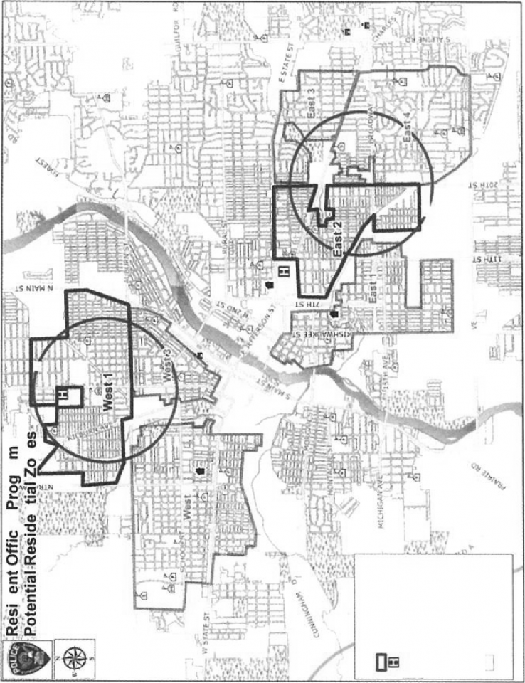 Map of Rockford Area